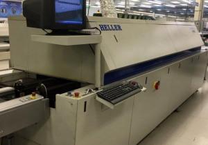 2008 Heller 1809 Exl Reflow Oven