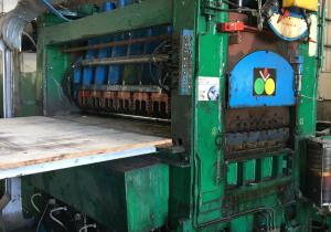 GABELLA GABELLA Slitter & Cut-to-length & Rewinding Line Capacity 0.4-3.00x1460 mm, min sliting 20 mm, decoiler 1500 mm / 16 t