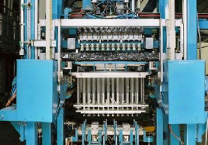 Candle Molding Machine with Siemens S5 Control