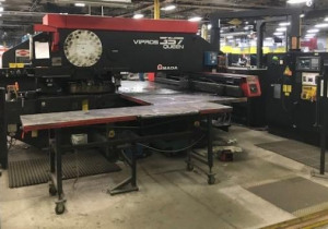 33 Ton Amada, Vipros 357 Queen, 2000, Cnc Turret Punch