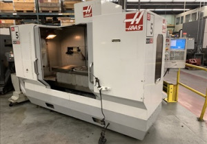 HAAS ES-5-4AX CNC Horizontal Machining Center