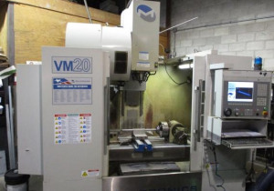 "40""X, 20""Y, 26""Z, Milltronics, Vm20, 2008, Cnc Vertical Machining Center"