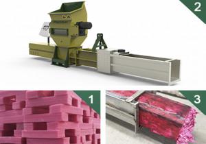GREENMAX Z-C100 foam compactor for sale