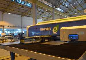 Finn-Power E 5 Ui Turret Punching Machine