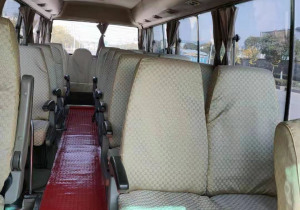 used luxury mini bus coaster made in japan used hiace for sale with 30 seats