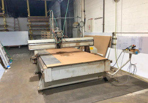 Used Multicam Mg204 Cnc Router, 5′ X 10′ Table, New In 2000