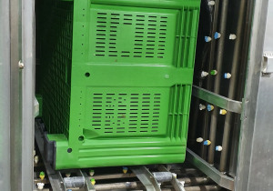 Bin Washers Pallet Washer Industrial Washing Mashines crate Washer plastic box big box plastic palletbox