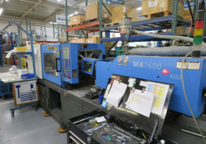 Haitian Ma1600-600 Injection moulding machine