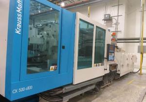 Krauss Maffei Km500-6100Cx Injection moulding machine