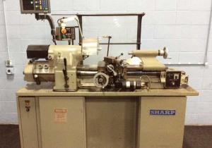 "Sharp 1118H High Precision Tool Room Lathe | 11"" X 18"" Cap. - #48538"