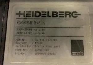 HEIDELBERG CD 102-5