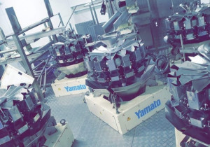5 x Multihead weigher Mehrkopfwaage packing machine Yamato