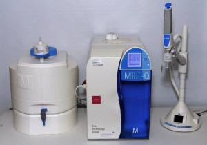 Millipore Milli-Q Integral 3 Water Purification System, W/ Q-POD Dispenser & Reservoir (ZRXQ003T0)