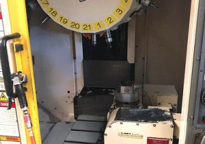 Fanuc Robodrill D21MiA5 with 4th & 5th Axis