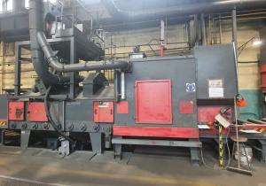 Rosler Shotblasting 4 turbine 1600 x 500 mm