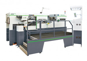 Brausse 1050 Fa Automatic Diecutting and Foil Stamping Machine