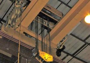 Kone Top Riding Double Girder Bridge Crane 25 Ton x 45'