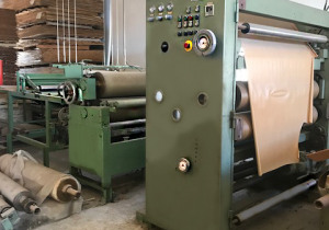 LAMINATION LINE  BARBERAN RF BOARDS AND DOORS