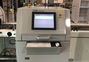 Omron CKD VP3000L Solder Paste Inspection System (2008)