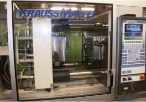 Krauss Maffei KM125 ‒ 700C2 Injection moulding machine