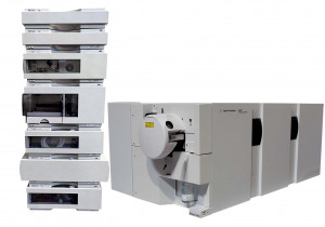 Agilent 6410A Triple Quad LCMS ( 6400 Series QQQ G6410A LCMS MSD MS ) with Agilent 1100 Series HPLC System