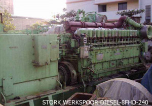 Stork Werkspoor Diesel Zwolle – Holland STORK WERKSPOOR 8FHD-240