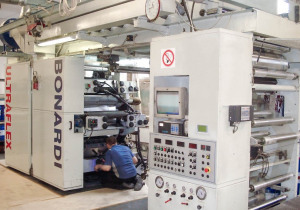 Bonardi 6 color flexo press