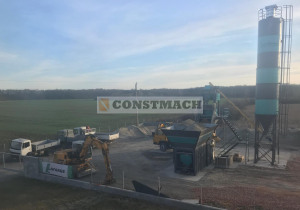 Constmach 30 m3/h Container & Compact Type Concrete Plant