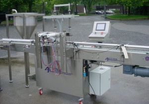 Accutek AVF-16 automatic filling machine