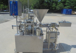 Autoprod RO-A3 Rotary Cup Filler/Sealer/Capper at Wohl Associates