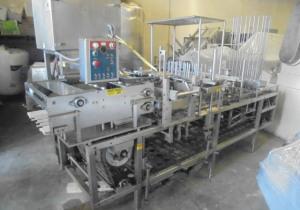 Autoprod FP 2X4 Four Lane Cup Filling/Sealing/Lidding Machine