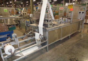 R A JONES Pouch King Form/Fill/Seal Machines