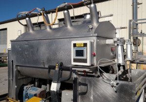 FPEC 2,500 Lb. Vacuum C02 Paddle Blender at Wohl Associates