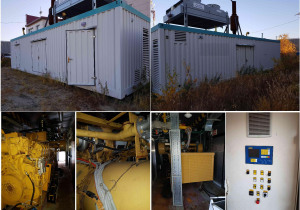 CATERPILLAR G3516 Used Containerized Natural gas fueled Power plant