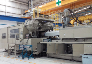 Toshiba IS 2200DF-200A Injection Molding Machine (2008)