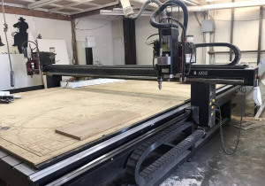 Table AXYZ 8012 CNC Router 8 ′ x 12 ′ d'occasion