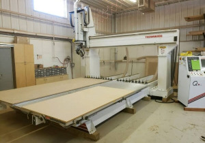 Used Thermwood Model 90 Dual 5′ x 12′ Table 5 Axis CNC Router New in 2011
