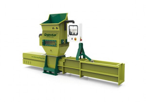 Automatic EPS plastic compactor of GREENMAX A-C200