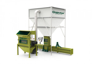 Polystyrene Recycling by Using machine AC300