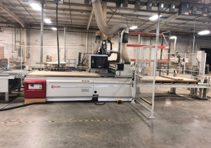Used 2014 SCMI Pratix N12 4'x 8′ D Cell Flat Table CNC Router