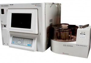 Shimadzu TOC-5000A Analyzer with ASI-5000A Autosampler