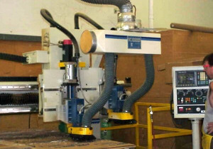 Used KOMO VR408 CNC Router, 4′ x 8′ Table, New in 1994