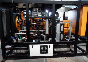AGGRETECH AG Scania DC 9 CHP - Combined Heating and Power Plant - Generator