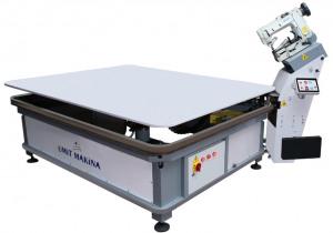 Ümit Makina |  K-25 HIGH SPEED MATTRESS TAPE EDGE MACHINE