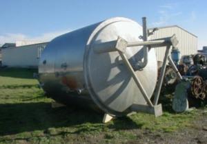 Bionaz – Mixing tank 12 m3