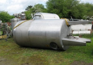 Insulated stainless steel tank 5000L