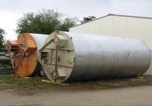 Agitated tank 27 m3