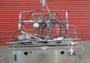 Microfluidics Stainless Steel Pilot Scale Microfluidizer
