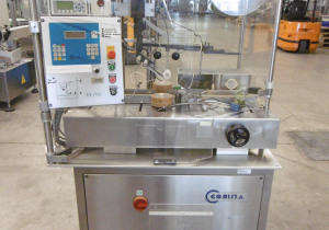 Corima (Marchesini Group) EF02 Self-Adhesive Top Labeller (vignettes, bolini) for cartons etc.