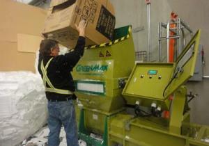 Foam compactor GreenMax APOLO C200